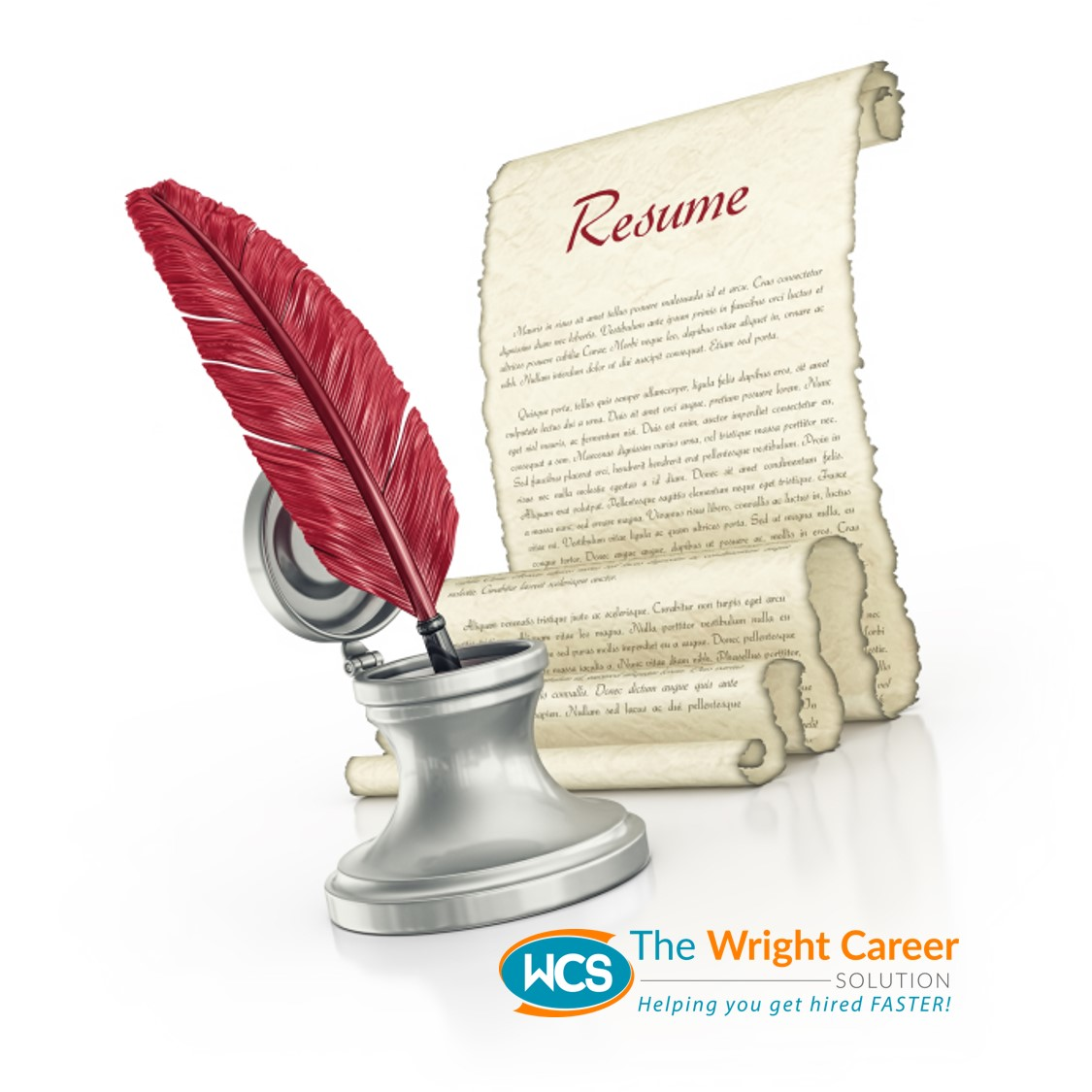 a quick look at our resume process the wright career solution